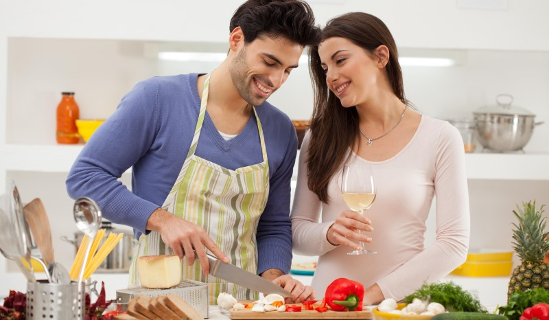 Image result for COOKING WITH WIFE
