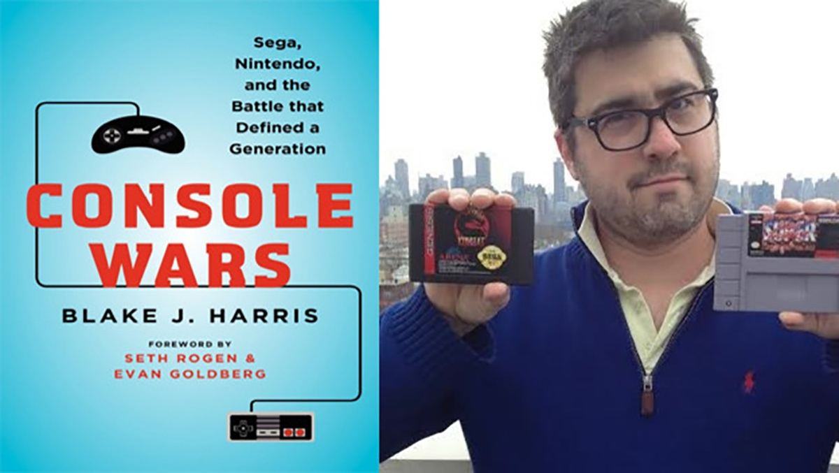 SEGA GENESIS Fans Check Out Our Interview With Blake J. Harris, Author Of Console Wars