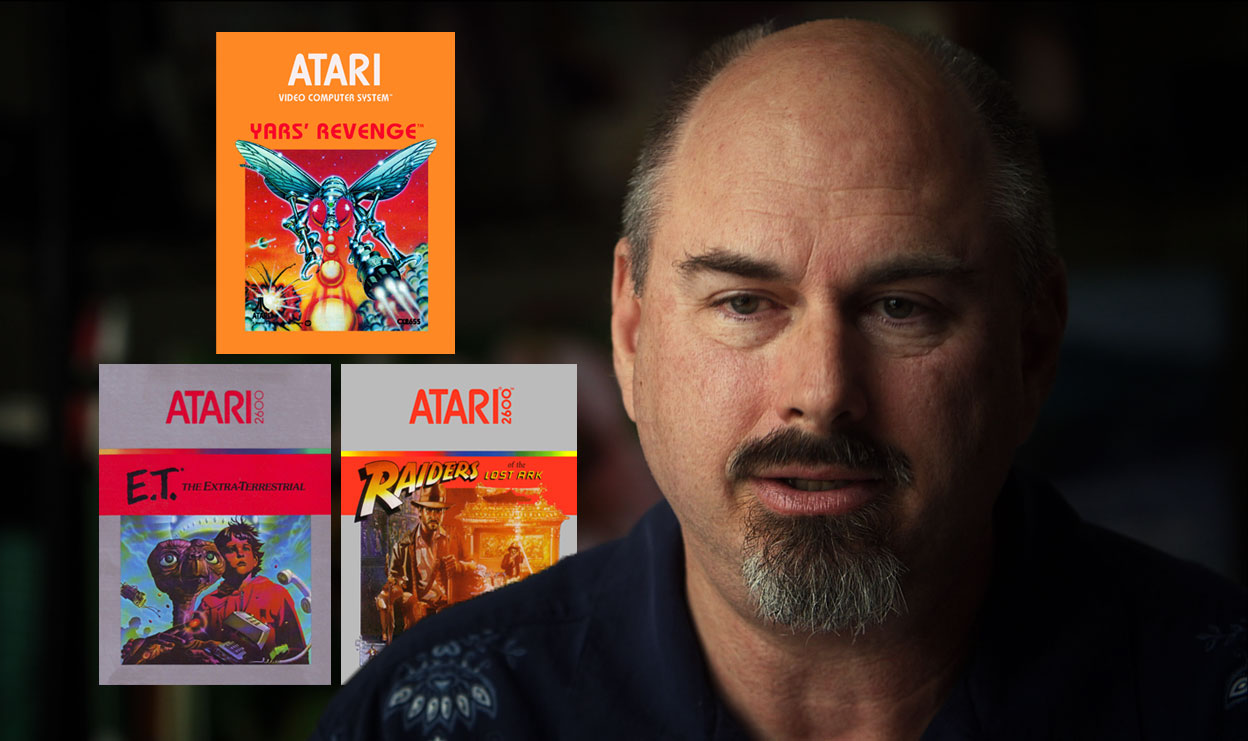 Howard Scott Warshaw (YARS REVENGE, RAIDERS OF THE LOST ARK, E.T.) Talks About The Early Days Of Atari