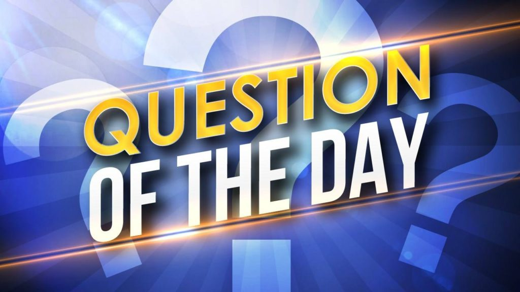 Question Of The Day | The Old Man Club