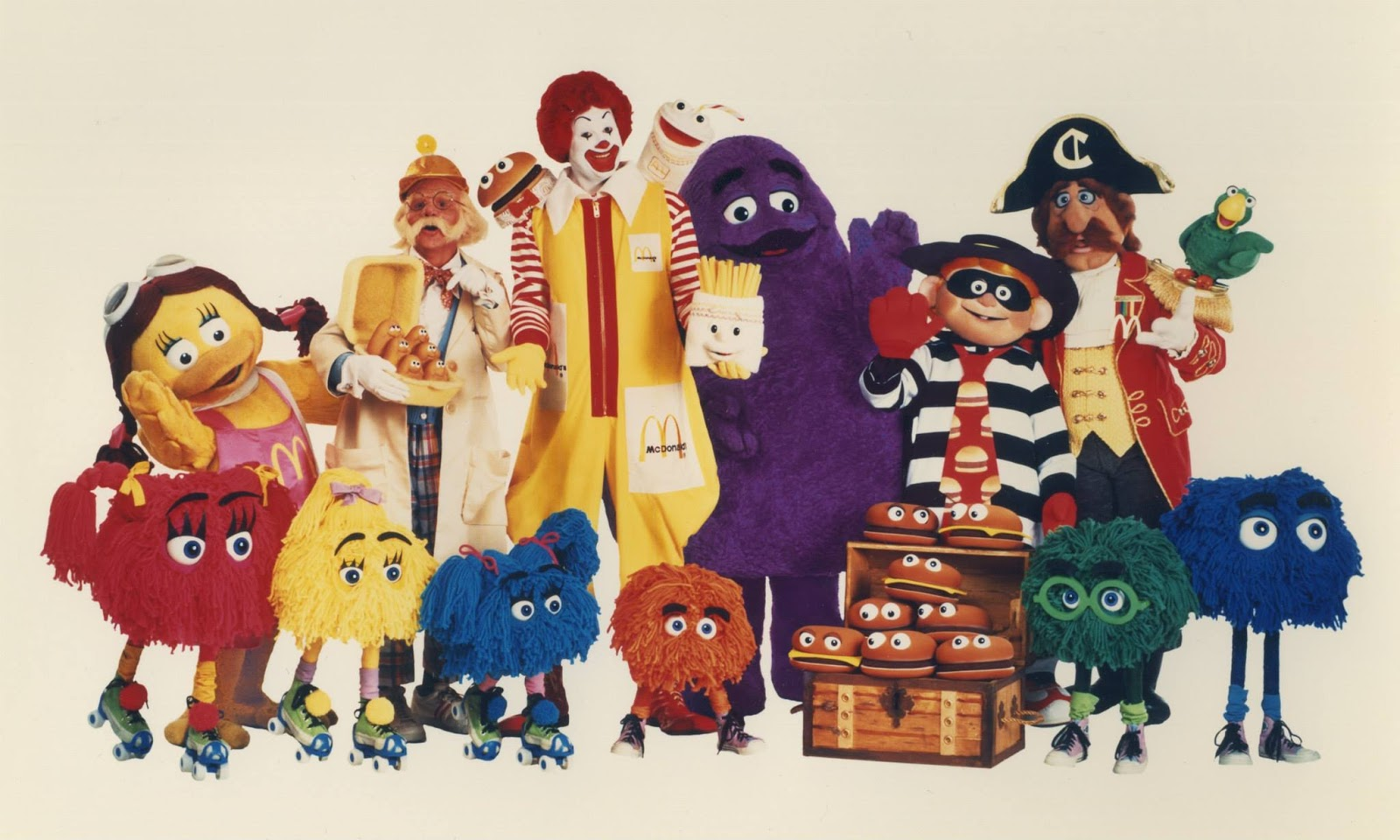 You Probably Can't Name These McDonald's Characters
