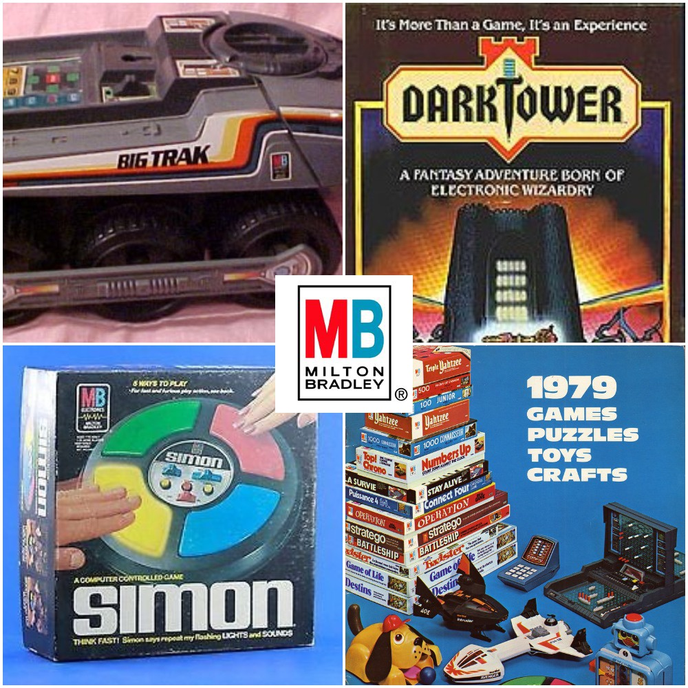 Big Trak, Simon and Dark Tower Are Just A Few Reasons Why MILTON BRADLEY Ruled Our Childhood
