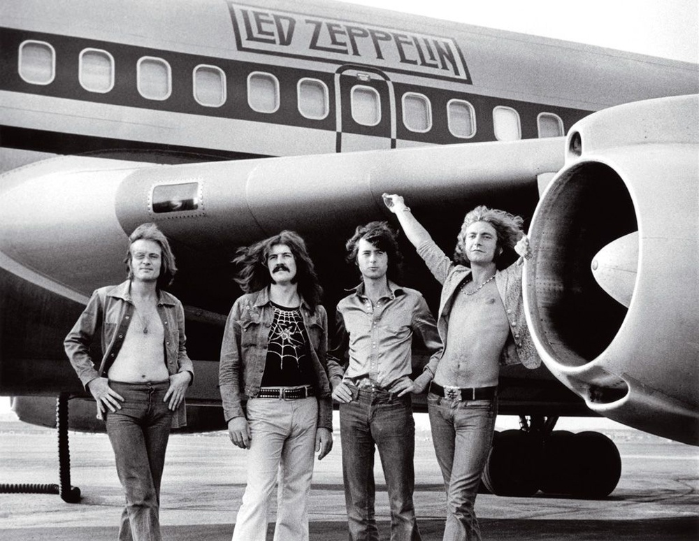 Getting High With Led Zeppelin Inside 'The Starship'