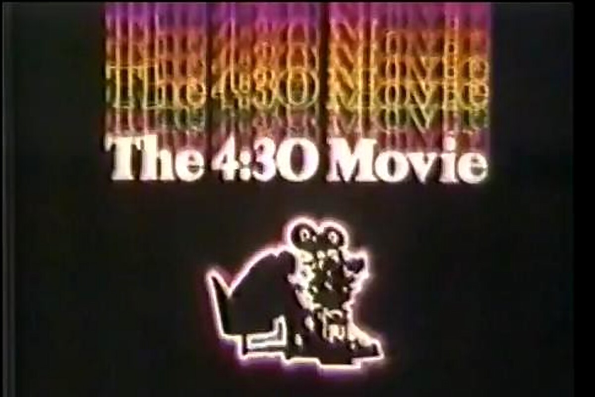 The 4:30 Movie Brings Back Childhood Memories For '70s Kids