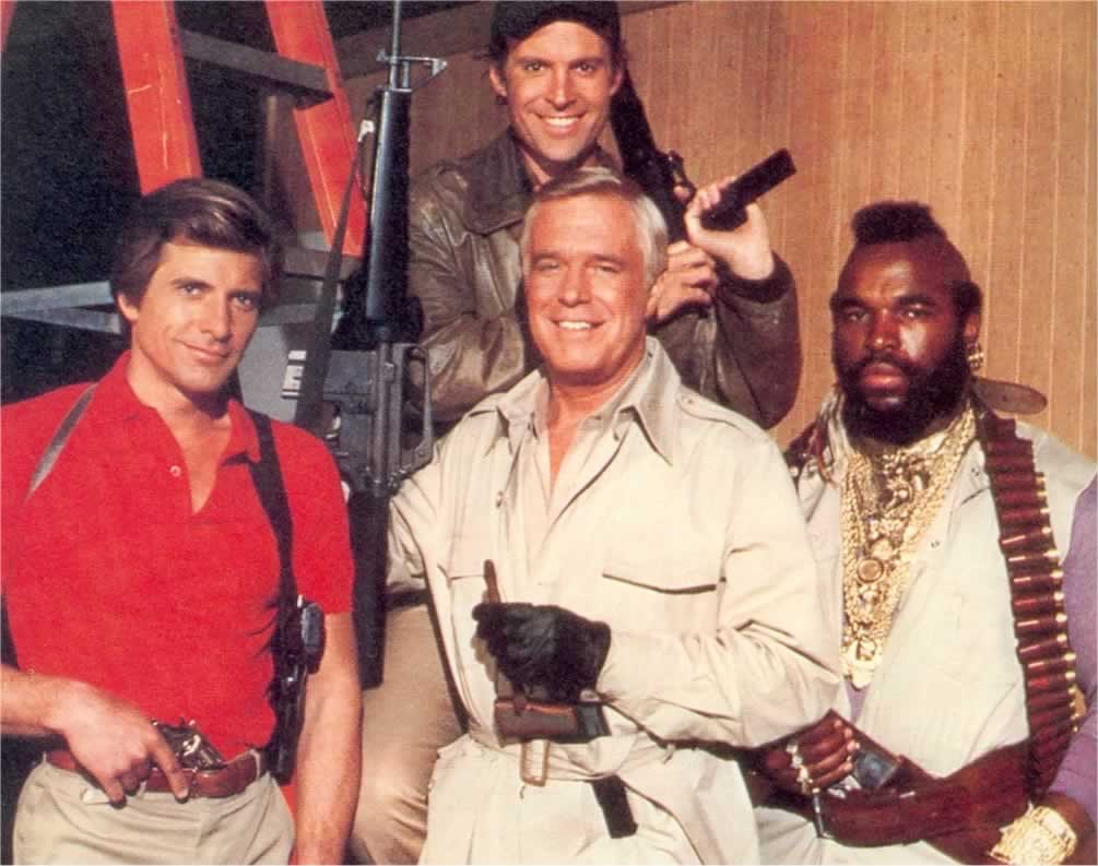 You Probably Can't Name These The A-Team Actors